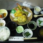 かわら亭 - 天ぷら定食
