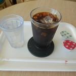 モスバーガー - アイスコーヒー¥250-