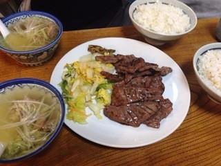牛たん 太助 分店 - 牛タン定食(肉は二人前)