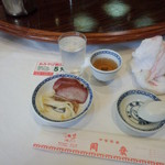 中華菜館 同發 別館 - 料理の一部①(2014.10.24)