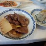 中華菜館 同發 別館 - 料理の一部②(2014.10.24)