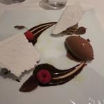 emuN - モンブランとチョコレートのソルベ