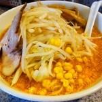 蔵一 - 北海道小樽味噌ラーメン 野菜大盛り 別角度