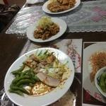 福香園 - コース料理の一部_2014年11月