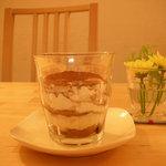 カフェ チャノマ - 豆腐のティラミス