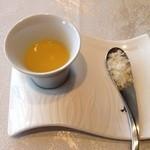 トレモンテ - 【New!】本日のスープ 粉チーズ添え