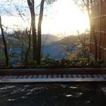 光雲閣 - 朝風呂離れ露天風呂