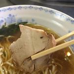 中華料理 喜楽 - ロースタイプのチャーシュー