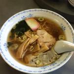 中華料理 喜楽 - ラーメン500円
