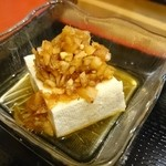 ぜん - 豆腐~(^o^)