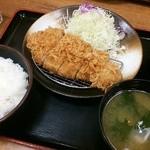松乃家 - 2014.11ロースカツ定食(500円)