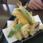 手打ち蕎麦 無垢 - 天ぷらたち