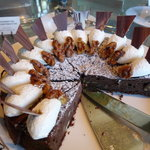 ロビー・ラウンジ - ☆チョコレートのケーキは…どっしり系ですね☆