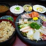 木器亭 - サラダ造り定食(*・ω・*)b♪