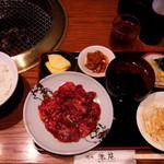 洙苑 - 焼肉定食