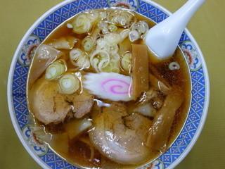 あたごや食堂 - ワンタンメン(¥650)