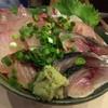 魚やの台所 - 料理写真:2011.11 地魚丼(魚×4種)