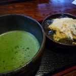 峠の茶屋 一軒屋 - 抹茶セット ¥700 (*・ω・*)b♪