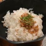 とろ麦 - 2014/11 じやこ飯