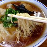 福々亭 - 醤油ワンタンメン