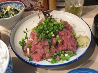 魚やの台所 - 2009.06 中落ち(皿盛り)