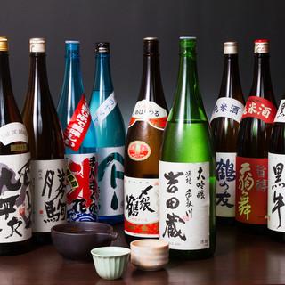 こだわりの全国各地の日本酒