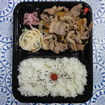 丸菱弁当 - 豚カルビ焼肉弁当 580円
