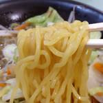 ピーターパンエクスプレス - たんめん:正油 麺アップ