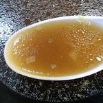 ピーターパンエクスプレス - たんめん:正油 スープ