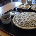 32427728 - ざる蕎麦大盛り 1,100円 (2014.08)