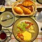 ペンション プモリ - 料理写真:朝ご飯