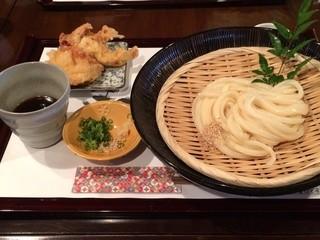 麺喰 - うどんラリー限定メニュー ざるうどんバージョン500円 ※2014年11月