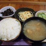 しのぶ - 料理写真:お昼の定食