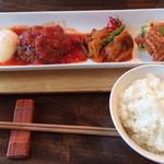 PREMIUM DINING WISH - 料理写真:ハンバーグランチ