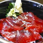 立ち喰い寿司 弁慶 - 漬けまぐろ丼
