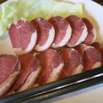 森の味処 なかむら  - イノシシ肉800円。