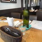 Casual Italian & Pasta LEGARE(レガーレ) - お水など(2014年11月来店)