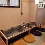 Kaiseki なかむら - 掘りごたつ式の個室座敷