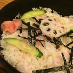 喜久鮨 - ちらしご飯。
