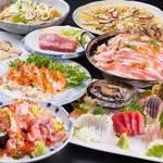 やひろ丸 - おすすめ5,500円コース(料理+飲み放題150分)