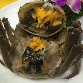 【上海蟹】紹興酒で酔っぱらわした「酔っ払い蟹」も絶品です♪