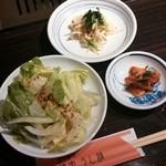 32442017 - サラダ・ナムル・キムチ