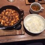 32442163 - 四川麻婆豆腐(ご飯・スープ付き)