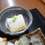 お食事処はやし原 - 胡麻豆腐