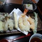 お食事処はやし原 - 天ぷら(並べてみた)
