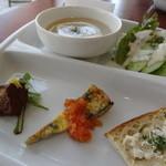 カジュアルカフェ&レストラン サンフラワー - 前菜プレート