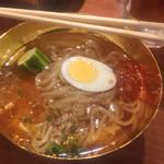 大阪焼肉・ホルモン ふたご  - 一口冷麺