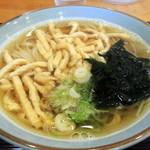 うどん茶屋 海津屋 - 2014年11月9日(日) きざみ揚げうどん(680円)