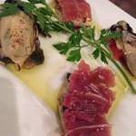 オステリアアルバ - 人気の牡蠣メニュー