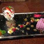 フランセスキッチン - デザート本日の2種盛り